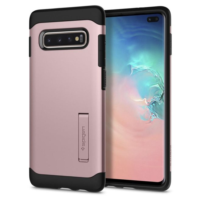 funda-galaxy-s10-plus-spigen-slim-armor-rosa-9